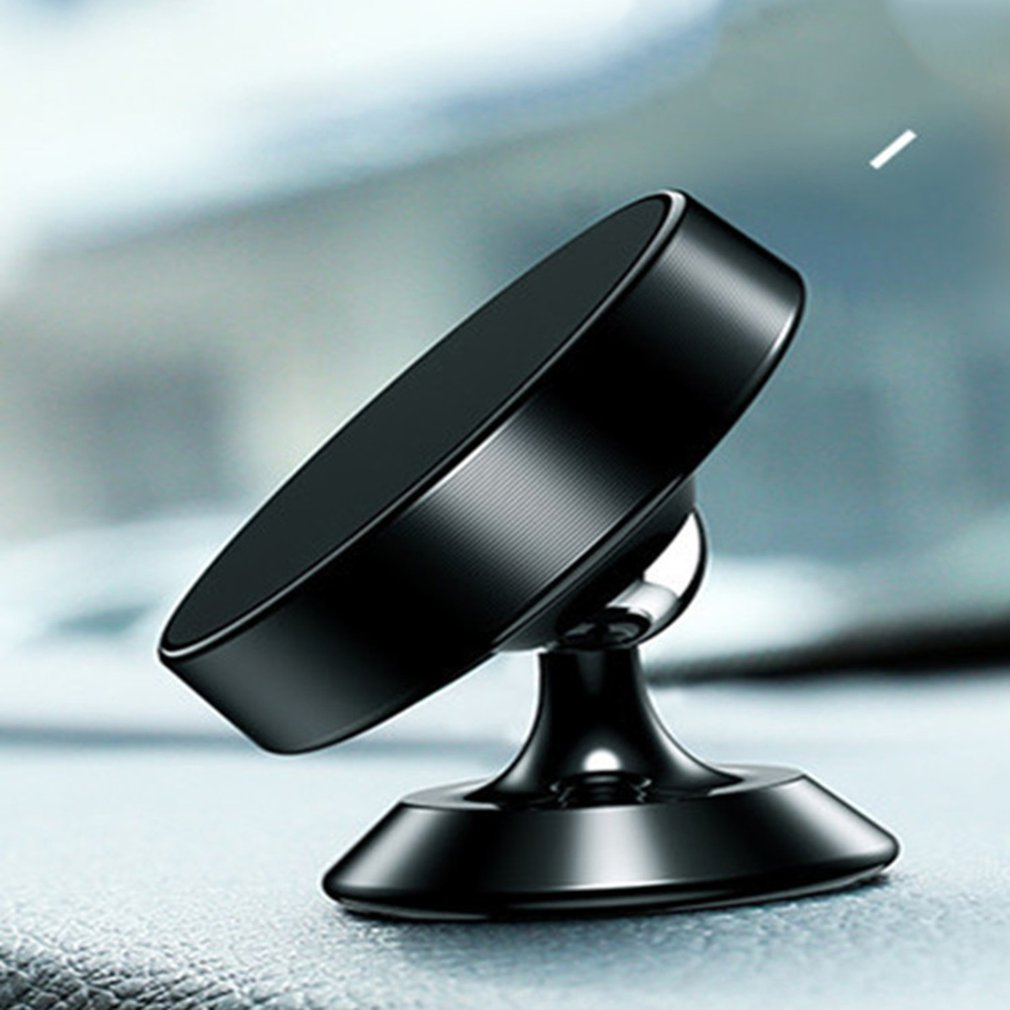 Phone Holder 360 Degree Rotatory Magnet Stand Support Cellphone Bracket Car Vehicle Mobile Phone Accessories