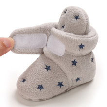Crib-Shoes Baby-Boots First-Walkers Toddler Newborn Infant Winter Warm Fur Ankle Velvet