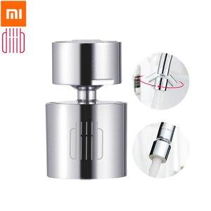 Image 1 - Xiaomi diib torneira de cozinha, torneira bubbler, torneira de água, filtro de economia de água, 360 graus, função dupla, 2 fluxos respingo à prova de