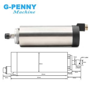 Image 3 - CNC router spindle motor 0.8kw Air Cooled Spindle Motor ER11 800w DIY spindle for engraving milling grind Air Cooling 4 bearings