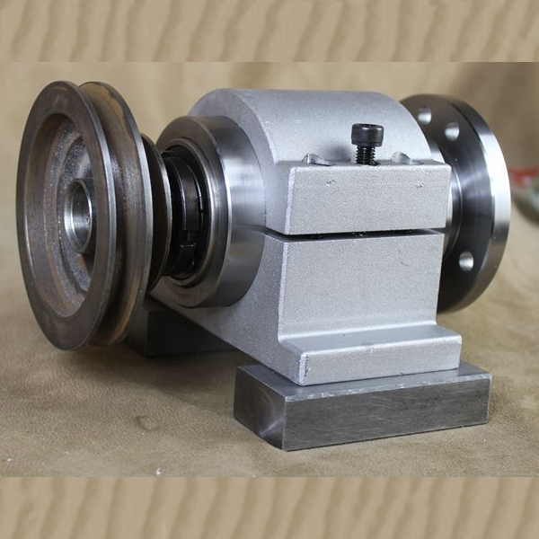 80/100/125/130/160 Lathe Spindle/carpentry/DIY/metal Lathe Assembly/bead Machine/three-jaw/four-jaw Chuck Flange