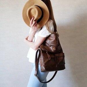 Image 2 - 女性のバッグのショルダーバッグ女の子のためのpuレザーハンドバッグクロスボディはパケットのファッション高品質カジュアルトート 14laptopバッグ