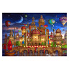 HD Animation Jigsaw Puzzle Night Castle Oversized 500 1000  2000 Piece Adult Puzzle Educational Toy Gift