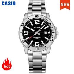 Casio Часы наручные часы для мужчин люксовый бренд набор кварцевые 50 м водонепроницаемые мужские часы спортивные военные часы relogio masculino