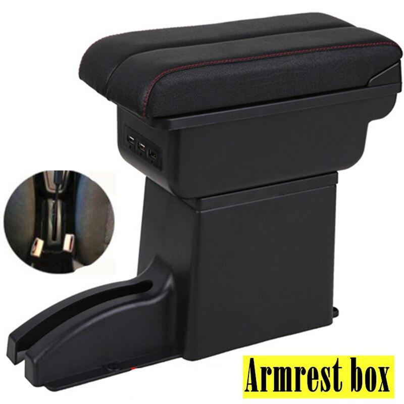 Для Лада гранта центральный подлокотник коробка USB зарядка увеличение двойной слой Подлокотники      АлиЭкспресс