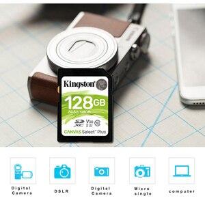 Image 2 - Kingston SD Card Scheda di memoria 128gb SDXC Scheda Digitale di Classe 10 cartao de memoria Per La Macchina Fotografica Canon Nikon Sony
