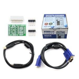 Image 2 - Freies Verschiffen 100% Original Neueste RT809F ISP Programmierer/RT809 lcd usb programmierer Reparatur Werkzeuge 24 25 93 serise IC