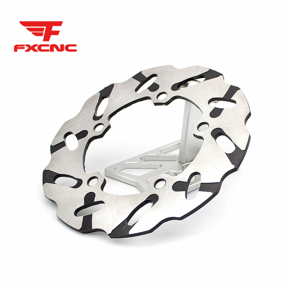 220mm Floating Disc Brake Rotor Motorcycle Rear Brake Disc Disks Rotor Fixed Disc For Yamaha YZF R1 2007-2014 YZF R6 2005-2015