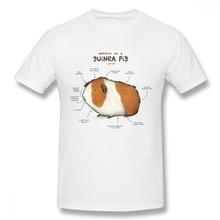 100% algodón Vintage estilo anatomía de un conejillo de indias perro camiseta para hombre Homme tamaño grande camiseta nueva llegada gran oferta