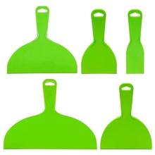 Knife-Set Scraper-Tool Baking Plastic Green Paint 5pcs for Decals Wallpaper Putty Flexible