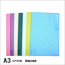 Multifunction A3 Self Healing Pu Leather Cutting Mat Board DIY Sculpture Tool Hand Writing Cutter Knife Pad A3 Patchwork Tools