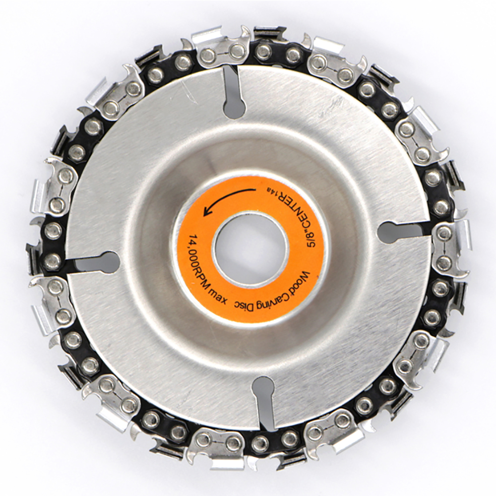 Abrasive Tools 4 Inch Angle Grinder Disc And Chain 22 Tooth Fine Cut Chain Set For 100/115 Grinding Machine Disc Chain Saw