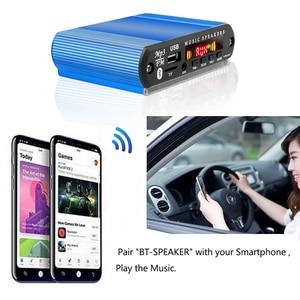 Image 5 - سيارة صغيرة USB الرقمية LED مضخم الصوت مكبر للصوت MP3 فك دعم TF بطاقة راديو FM لاعب مع جهاز التحكم عن بعد
