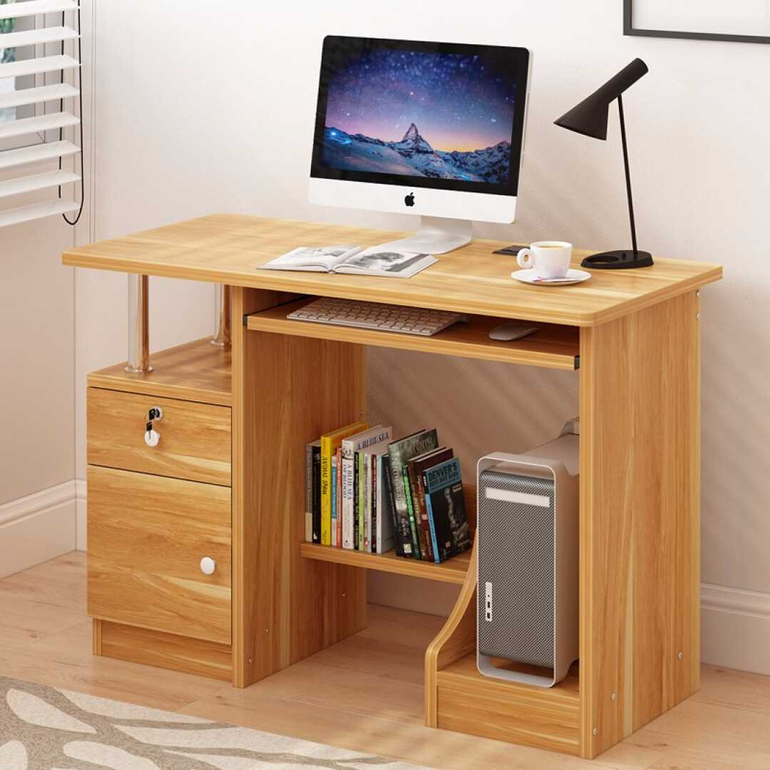 Computerized Desktop Simple Home Student Desk Modern Bedroom Office Study Desk Space Saving Small Table