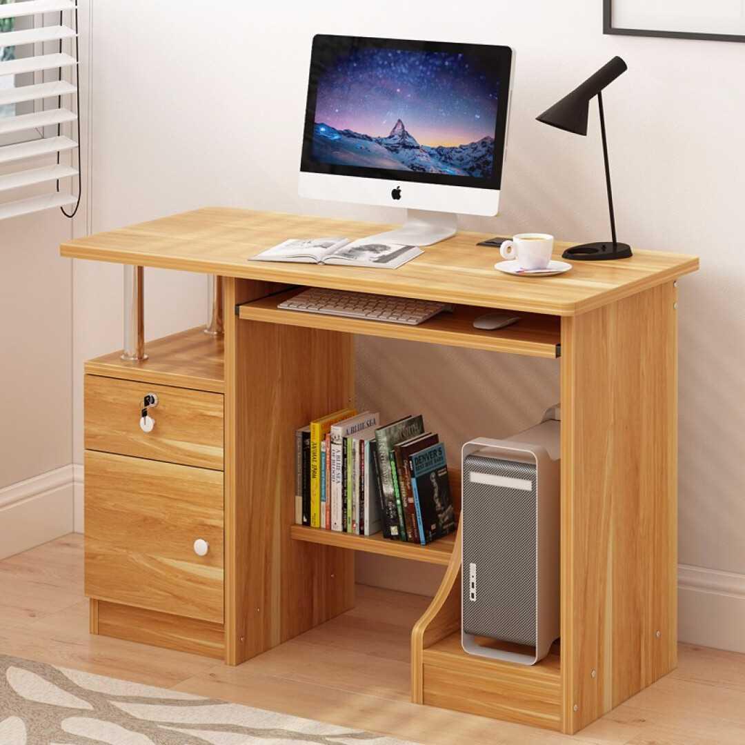 Computerized Desktop Simple Home Student Desk Modern Bedroom Office Study Desk Space Saving Small Table