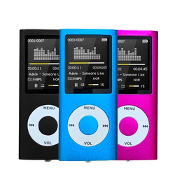 Mp4 player fm rádio portátil console de jogos txt e-book ultrafinos mp3 player leitor de música gravador de voz de áudio presente para o miúdo mp4
