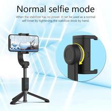 Einstellbare Telefon Griff PTZ Stabilisator Tragbare Sport Universal Selbstauslöser Handy Anti Schütteln Selfie Stick für iOS Android