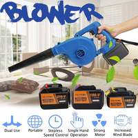 168V/198V/218V Cordless Computer cleaner Electric air blower dust Blowing Dust Computer Dust Collector Air Blower 900W blower