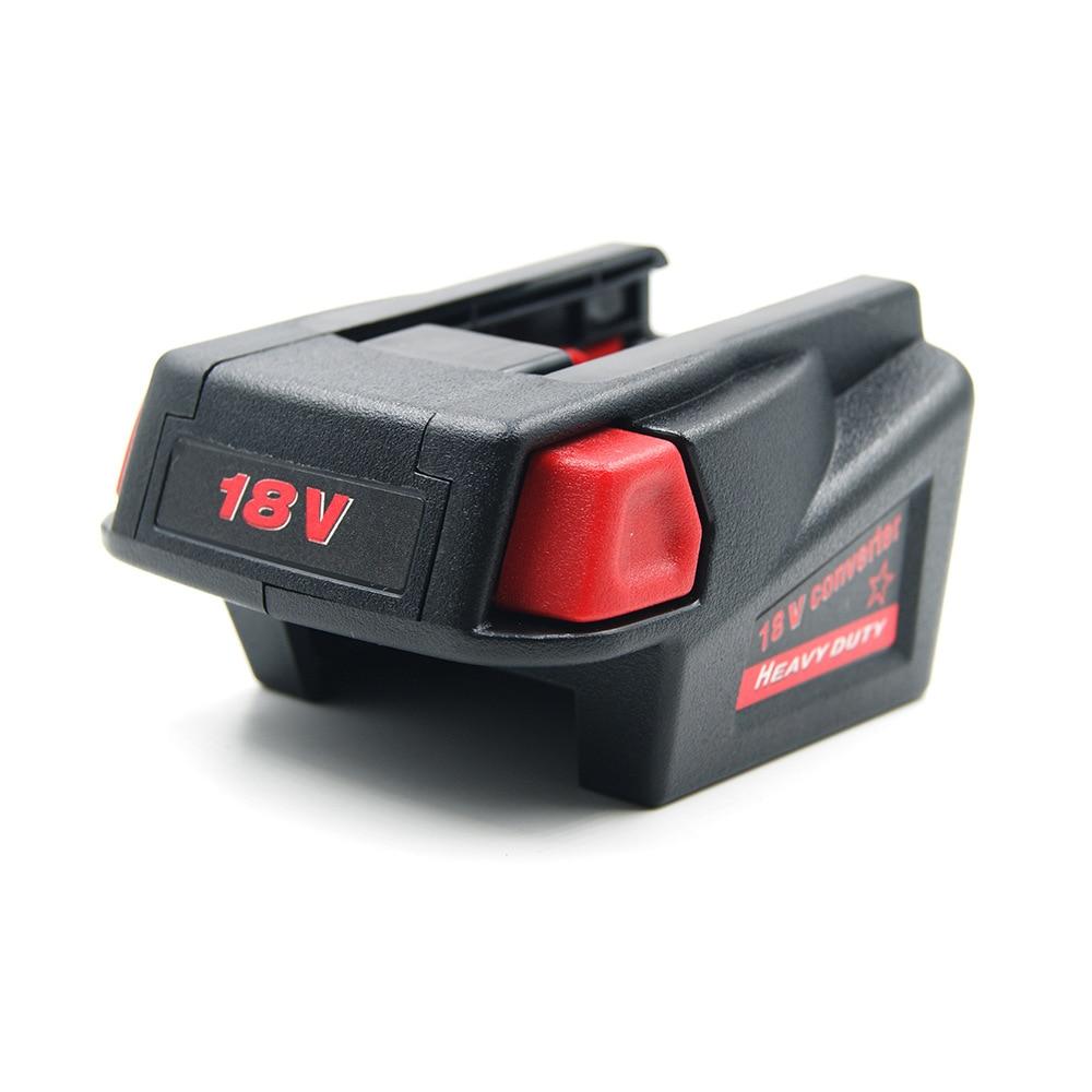 18V Batteries Adapter Converter For Milwaukee M18 18V Li-ion Battery To Milwaukee V18 Battery Converter