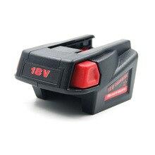 18V Batterijen Adapter Converter voor Milwaukee M18 18V Li Ion Batterij Milwaukee V18 Batterij Converter