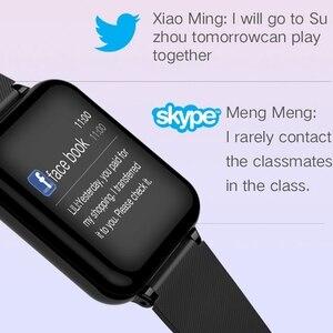 Image 5 - B57 cy05 iwo 8 smartwatch fitness, relógio inteligente masculino e feminino com frequência cardíaca e saúde sanguínea, para huawei, samsung, sony, xiaomi e android telefone móvel