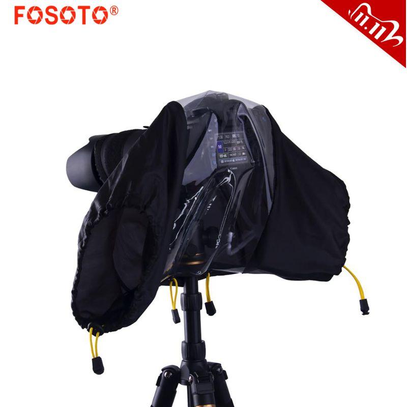 fusitu Professional Waterproof Rainproof DLSR Camera Rain Cover Soft Bag for Canon Nikon Sony Pendax DSLR Camera And Lens