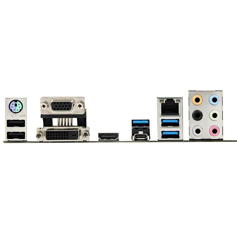 For ASUS B150M-PLUS Desktop motherboard Intel B150 LGA 1151 micro ATX DDR4 64GB M.2 SATA3.0 USB3.0 100% fully Tested 3