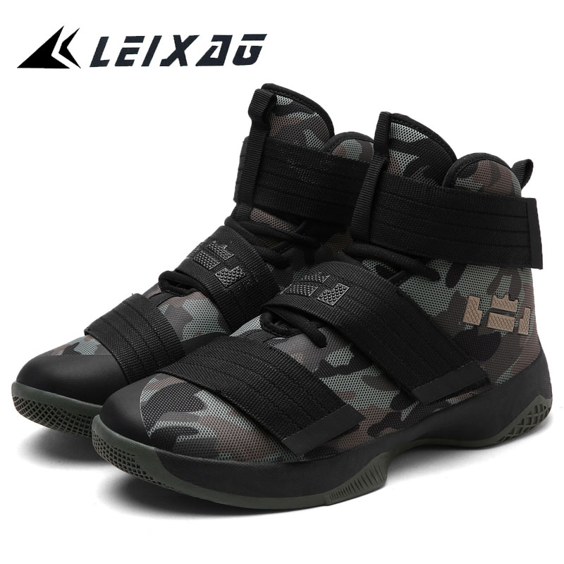 Humtto Men Basketball Shoes Air Damping Men Sports Sneakers High Top Breathable Trainers Leather Shoes Men Outdoor Jordan Shoes  jordans shoes all black