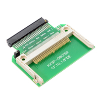 10pcs/lot Cablecc CY CF Compact Flash Merory Card to 50pin 1.8 Inch IDE Hard Drive SSD Converter Adapter for Toshiba