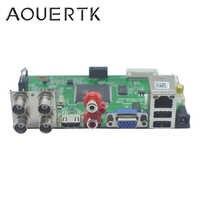 1080 P/1080N/5MP 5in1AHD CVI TVI CVBS 4CH CCTV scheda DVR Rilevazione di Movimento di sostegno e 5 Record modalità
