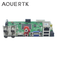 1080P/1080N/5MP 5in1AHD CVI TVI CVBS 4CH CCTV DVR board support Motion Detection and 5 Record mode