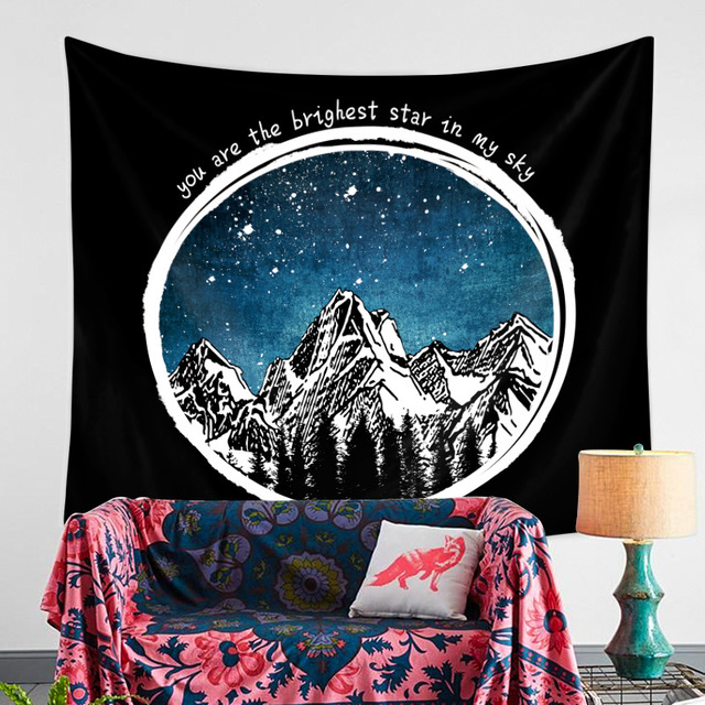 Landscape Printed Wall Tapestry 3