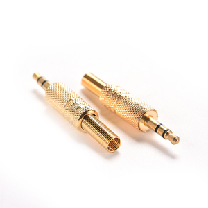 1PC / 2PCS Mini 3,5mm Stereo Audio Jack Stecker 1/8 Zoll Jack Stecker Stecker coax Kabel Audio Adapter Verbindungsstücke