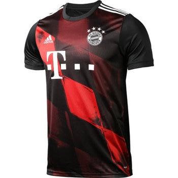 blank soccer jersey Adidas football jersey 20-21 Bayern second away game Football Jerseys Soccer Clothes Sets Short Sleeve Football Uniforms Soccer