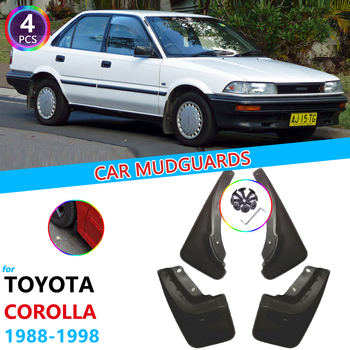 Mudguards for Toyota Corolla AE90 E90 AE100 E100 1988~1998 Guard Splash Flaps Fender Mudflaps Car Accessories 1989 1990 1991 image