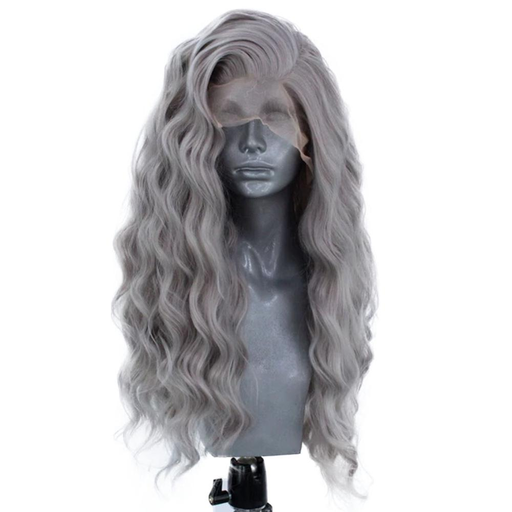 Websterwigs Synthetic Lace Front Wigs for Women Body Wave Lace Front Glueless Heat Resistant Fiber Hair Cosplay HandTied Wig