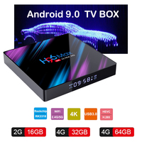 android 4 2 Google Play Tv box android 9.0 H96 MAX Rockchip 4G 16GB 32GB 64GB Android tv box 2.4/5.0G WiFi Bluetooth 4.0 4K 3D Android box (1)