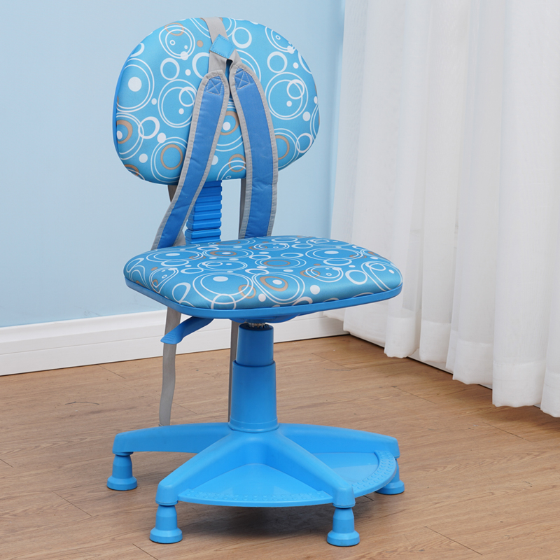 Children Study Chair Desk Writing Chair Can Be Raised And Lowered To Correct Sitting Position Anti-hump Back Stool