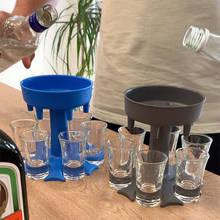 Copos de bebida do amigo alcool do tiro do distribuidor do tiro da barra para o álcool