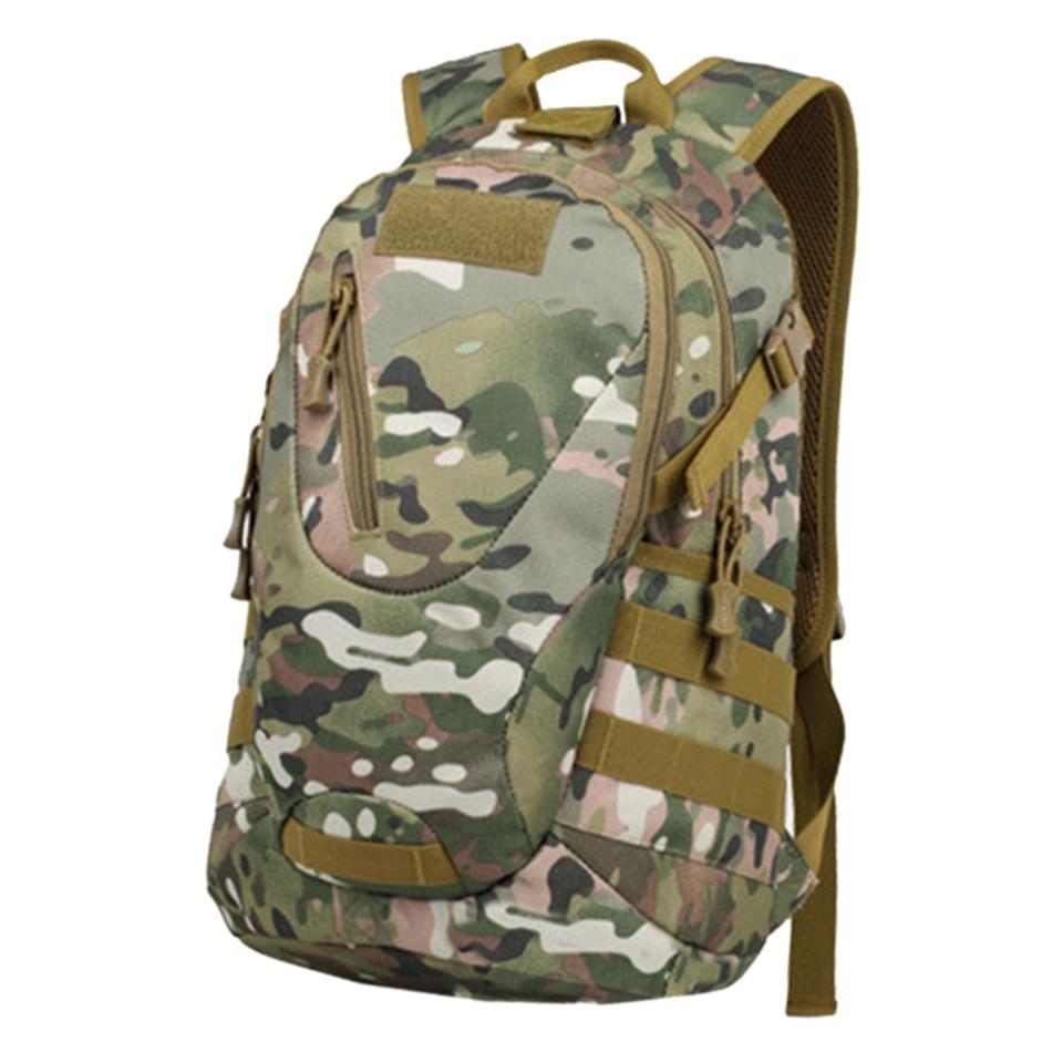 Camouflage Waterproof Outdoor Backpack Daypack Bags Survival Pack Men Women