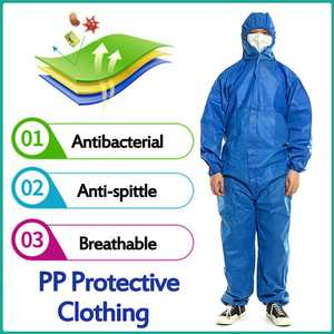 Protective-Coverall Overall-Suit Decorating-Clothes Workwear Painting Disposable Oil-Resistant