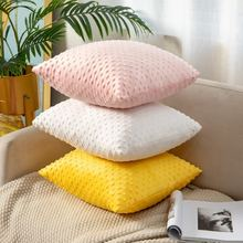 Супер мягкая подушка крышка поднятый круглая для украшения домашнего