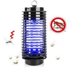 110 в/ 220 В портативный электрический светодиодный светильник убийцы москита насекомых Fly ошибка репеллент против комаров УФ ночного света ЕС США штекер #1