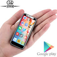 Soporte de Google jugar 3,4 pulgadas pequeño mini 4G Smartphone Android 8,1 huellas dactilares Dual SIM Quad Core desbloquear teléfono móvil Melrose 2019