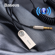 Baseus USB Bluetooth адаптер Aux Bluetooth адаптер V5.0 приемник аудио передатчик кабель программный ключ для автомобиля 3,5 мм разъем автомобильный адаптер кабель bluetooth адаптер блютуз адаптер usb bluetooth