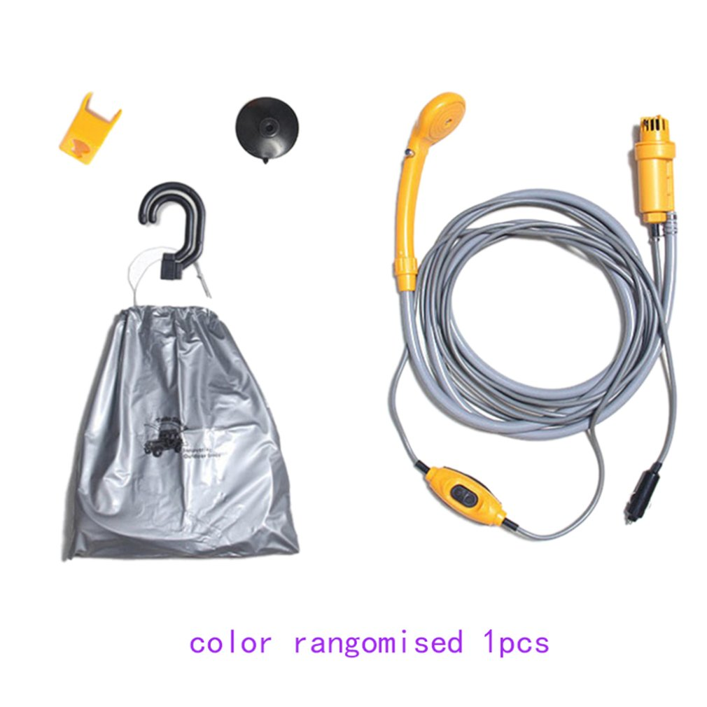 New Car High Pressure Washer 12V Huter Car Shower Washer Set Electric Pump Outdoor Camping Car Wash Travel Cleaning Tool Karcher
