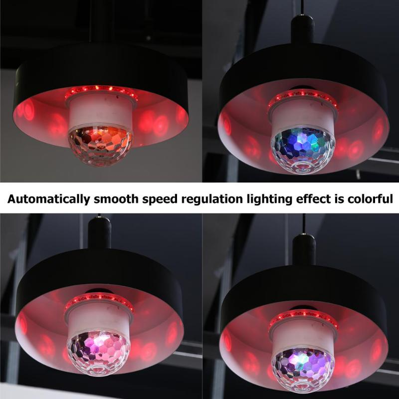 Bluetooth Magic Ball Light 48 LED Practical Durable Lightweight High-quality Colorful Voice Control Lamp For Party DJ Decor