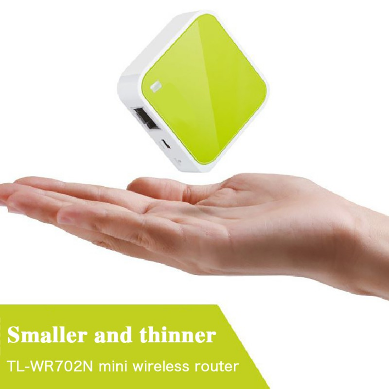 Portable Small TP-Link Wireless Router Repeater WiFi Bridge Travel Router USB Port 150Mbps Pocket Size Wifi Signal Router