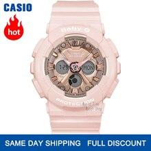 Часы Casio baby g Женские часы Luxury Brand Set Часы цифровые наручные часы 100м Водонепроницаемый Хронограф военные часы Женские дайверы Ударопрочные часы для женщин кварцевые спортивные женские часы relogio feminino