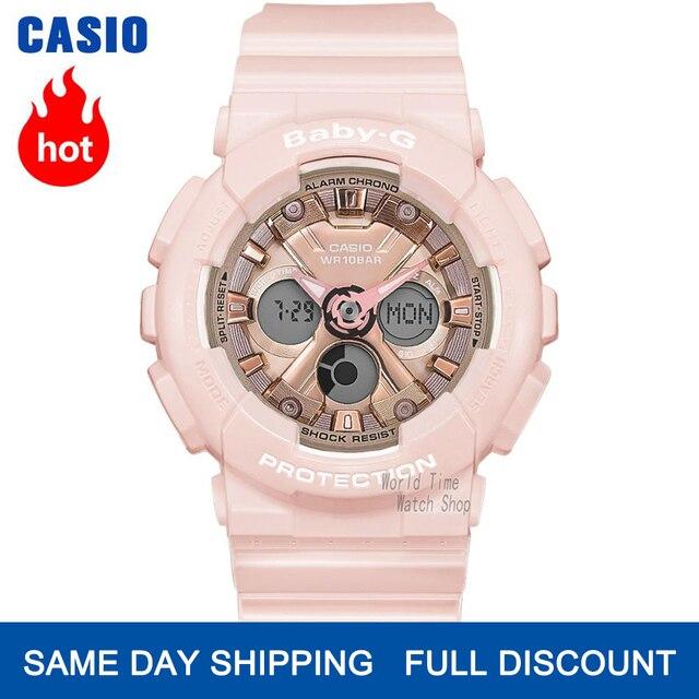 Casio İzle Bebek G Kadın Saatler Lüks Marka Set LED Saatler Dijital Bilek İzle 100 m Su Geçirmez Chronograph Askeri İzle Kadınlar Kız Favori Dalgıçlar Kadınlar için Şok Dayanıklı Saatler Kuvars Spor Bayanlar İzle часы
